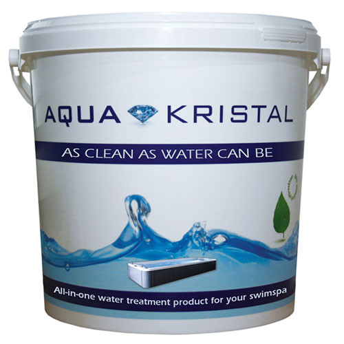 AquaKristal swimspa wateronderhoud