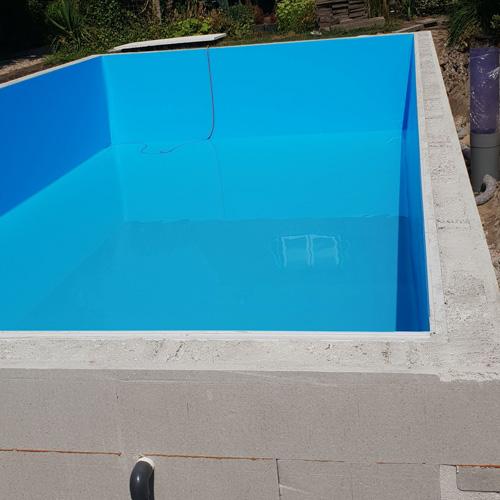 bouwkundig zwembad 5 x 10 meter folie plaatsen 2