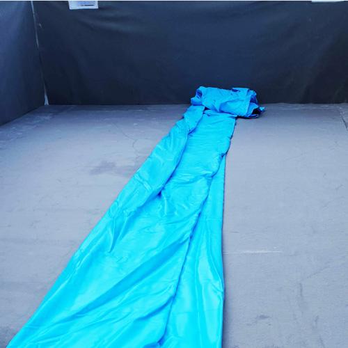 bouwkundig zwembad 5 x 10 meter folie plaatsen