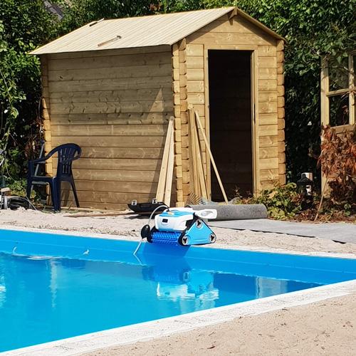 bouwkundig zwembad 5 x 10 meter zwembad techniekhuisje