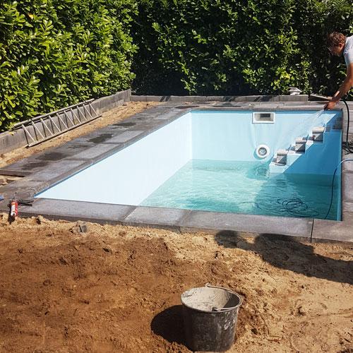 zwembad aanleg bouwkundig bad