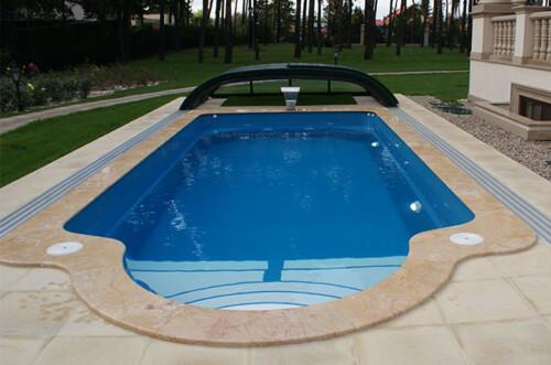 polyester zwembad garda 800