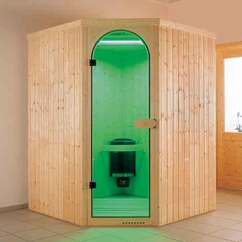 infrarood cabine 5hoek