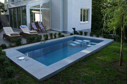 Polyester zwembaden modellen en prijzen deskundig advies for Kostprijs polyester zwembad