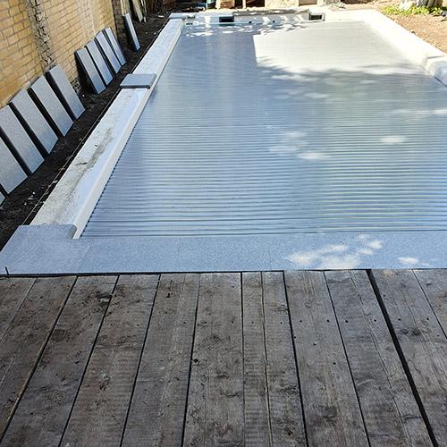 leggen randstenen polyester zwembad