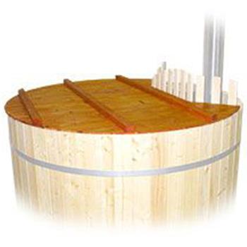 luxe houten deksel voor Hottub Grand Royal 160