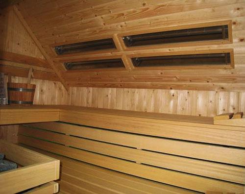 maatwerk sauna met infrarood