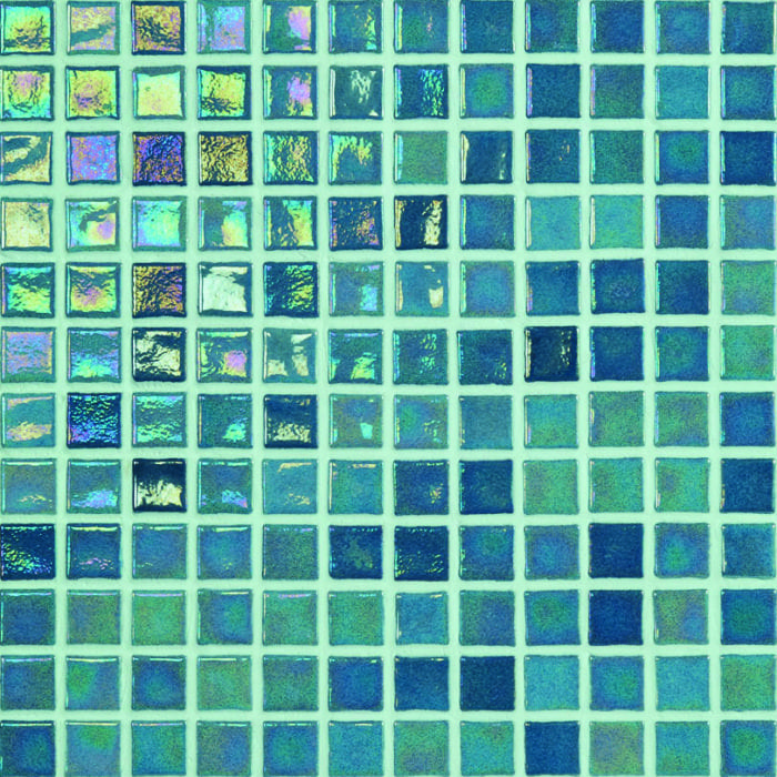 mozaiek kleur emerald green