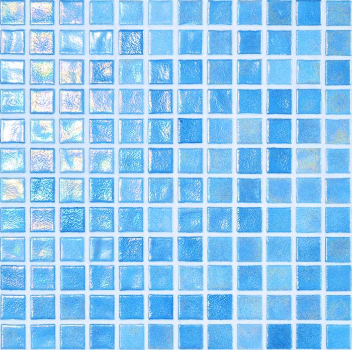 betegelde zwembaden mozaiek kleur style blue