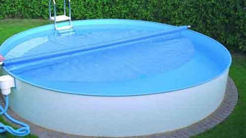 opzet zwembaden rond