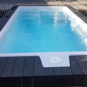 polyester zwembad Koro 5 x 2,65 x 1,4 meer