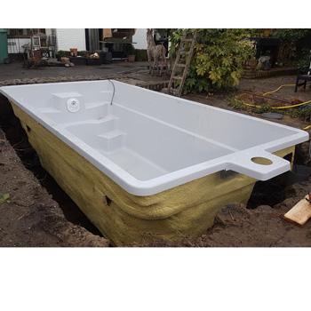 polyester zwembad type Koro 5 x 2,65 x 1,4 meter