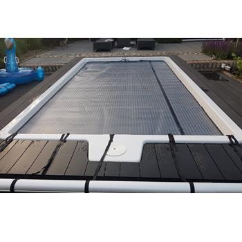 polyester zwembad type Koro 5 x 2,65 x 1,4 meter met noppenfolie afdekking
