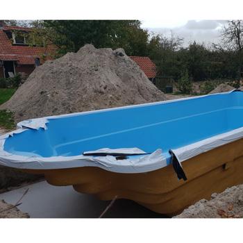 polyester zwembad 9,5 meter