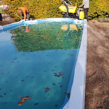 polyester zwembad project Garda 950