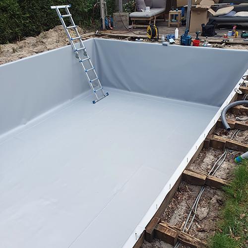 renovatie foliezwembad Amersfoort