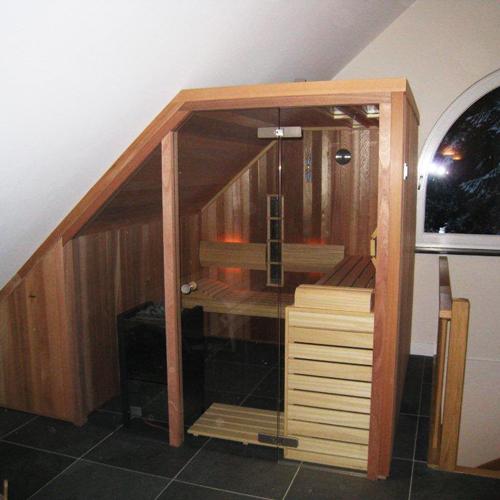 sauna project schuine kap 2