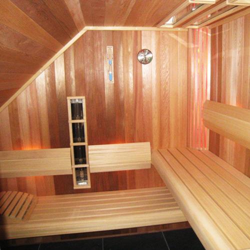 project sauna schuine kap 3