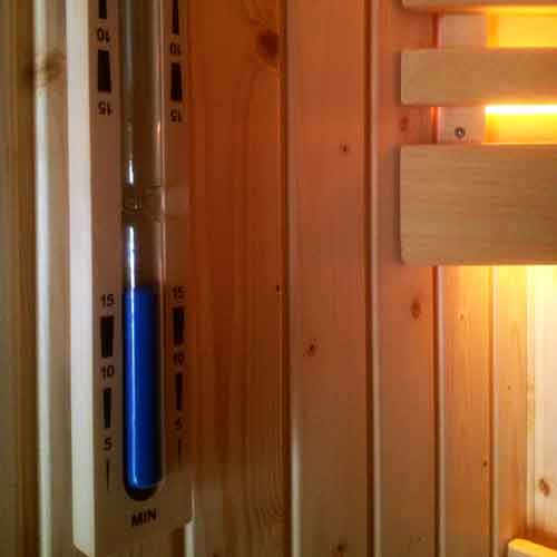sauna-zandloper