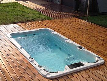 swimspa aquatic 1 ingebouwd