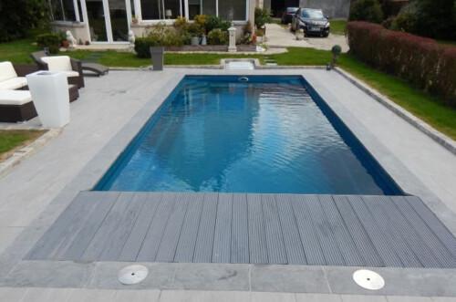 polyester zwembad wanaka 850 met lamellenafdekking