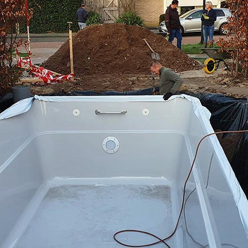 zwembad project TOBA 6 x 3 x 1,5 meter